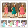 2015 wholesale new brand name remake cotton baby dress girls giggle moon remake dress children party dress
