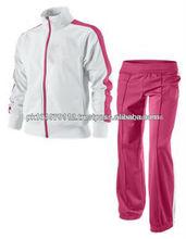 Soft shell impermeable trajes de pista/de mujer de algodón adaptarse a la pista/diseño superior chándal/