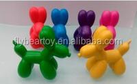 Wax crayon novelty design dog shape crayon