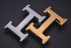 ODM&OEM fashion H shape belt buckle with great price