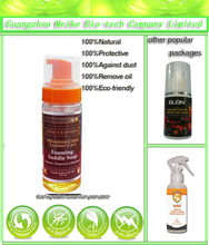 all natural leather care cleaner in spray pump