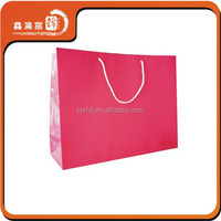 silver packaging custom dit-cut high quality paper bag