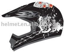 AD-618 motorcross helmet off road/ helmet ATV/ custom helmet