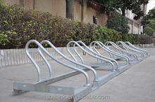 2015 high quality Galvanized steel standing used bike racks