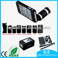 8x zoom lens for mobile phone,telescope camera lens for samsung galaxy note 3 S4 S3,8x smartphone zoom lens