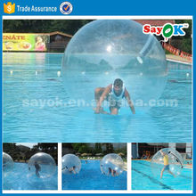 Polymer jumbo walking water ball pool water bouncing ball for sale