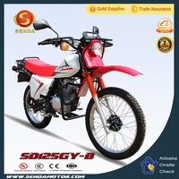 Chinese New Style Cheap 125CC Motorcycles Dirt Bike OEM Motorbike Motocross Pit Bike for Sale XL185 SD125GY-B
