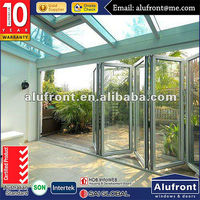 Astrualia Standard Aluminium folding door with thermal break