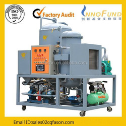 Pure physical selected material Waste Engine Oil Recycling to Diesel Plant