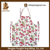 Top quality floral printed kitchen apron/placemat/napkin