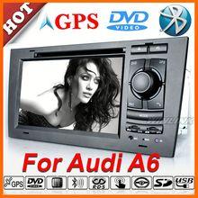 Original UI dvd 1 din auto for Audi A6 S6
