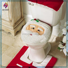 alibaba wholesale Christmas Toilet Seat Cover christmas decoration for home