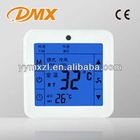 LCD Display Touch Screen Room Digital Thermostat Adjusting Thermostat