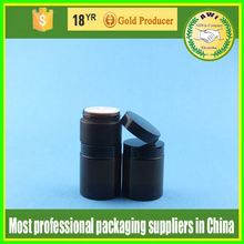 Multilayer cover cosmetic jar with SAN