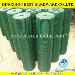 high quality 6x6 reinforcing pvc coated welded wire mesh