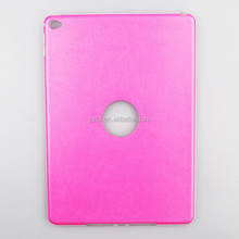 Factory price new design leather tpu phone cover FOR IPAD 6 Double material Case