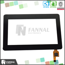 touch screen 4.3 inch g+g structure touch glass panel