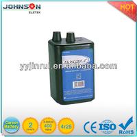 6V 4R25 zinc carbon korea dry battery