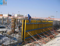 Cost effective & reusable aluminium concrete formwok shoring prop system