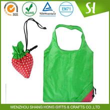 China Cheap Customized Logo fruit shape folding reusable bags
