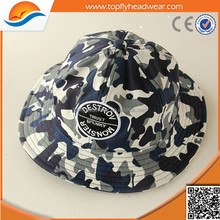 Camouflage cotton bucket hat/Fashional colorful couple bucket hat/Manufacturer custom fishing hat/cap
