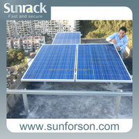 Sunpower solar panel for roof mounting