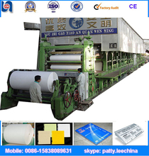 waste paper recycling writing, printing Paper making Machine, 1092mm - 4800mm width, 2-60 ton/day
