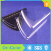 Disposable triangle plastic container trays for food sandwich