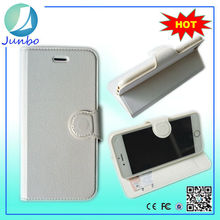Fashionable smart flip cover leather wallet universal cases for iphone 6