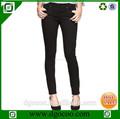 Nuevo diseño occidental skinny slim fit mid- cintura estilo europeo pantalones vaqueros de mujer de marcas