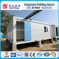 Lida low cost high quality prefab container house for lamp