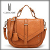 Hot promotional fashion genuine italian leather bag