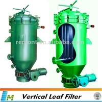Industrial leaf pressure filter for cooking oil