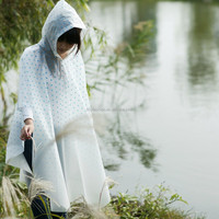 Women Fashion Stylish EVA Rain Poncho