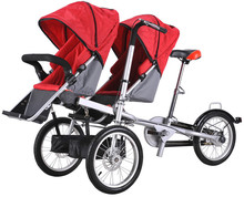 Best selling products twins bike stroller