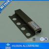 Aluminum Corner Straight Edge Tile Trim/Movement Joint Profile