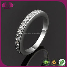 China Factory Cheap Rings 14K 585 White Gold Ring