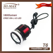 high power 3*CREE XM-L U2 Led portable miner headlamp light