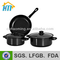 moda tencere emaye tencere china stainless steel cookware sets