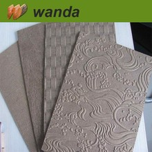 2mm hardboard sheet / decorative patterned hardboard
