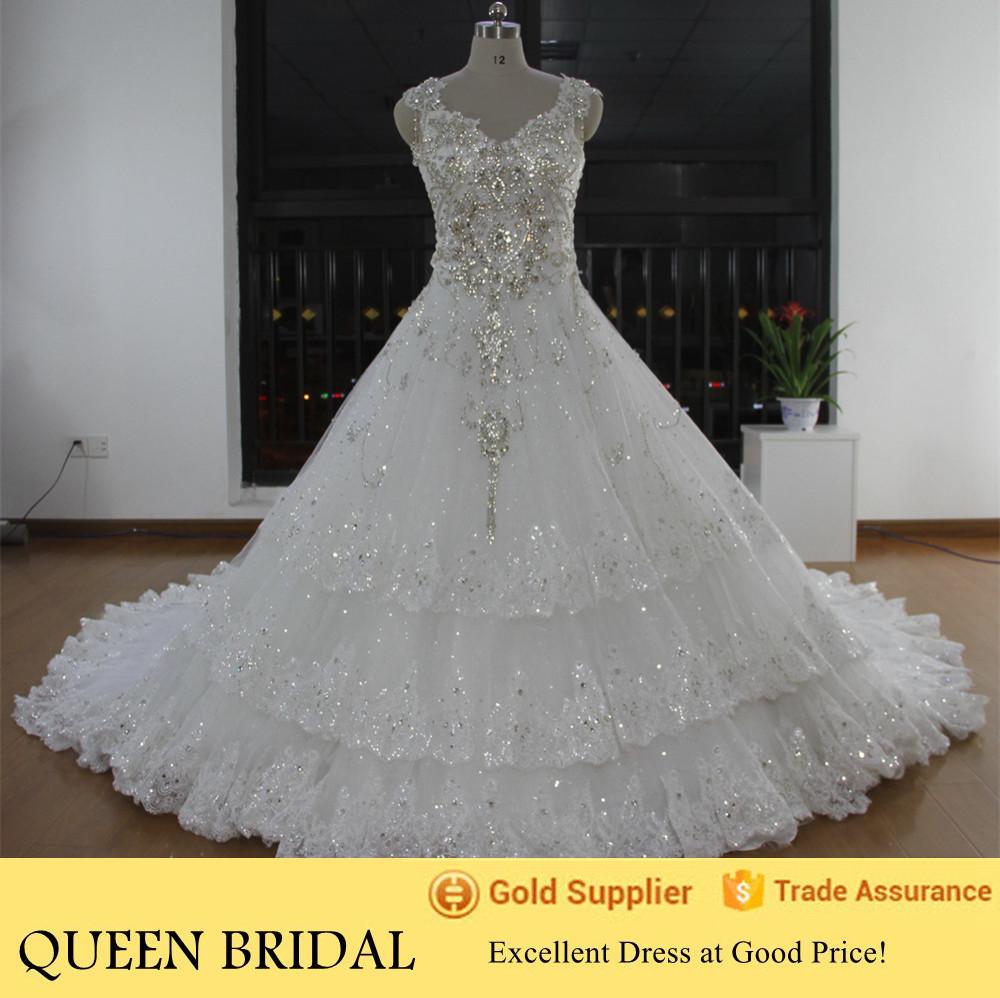 Plus size rhinestone wedding dress car interior design for Plus size bling wedding dresses