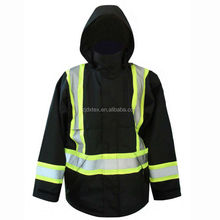 Fire resistant men jacket for protective workwear