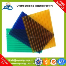 Building material bulletproof polycarbonate corrugate roofing sheet for roofing