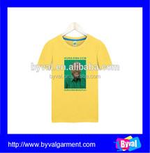 China wholesale plain white election t shirt for promotion