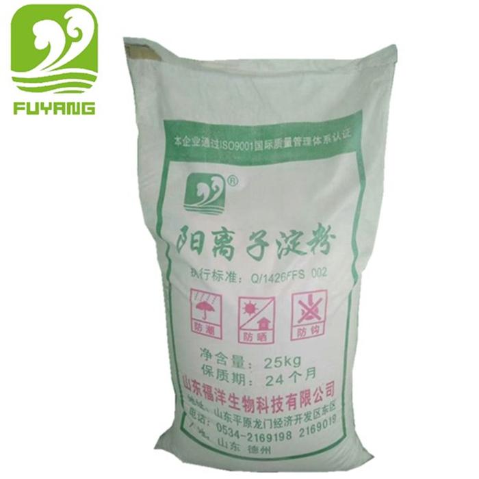 Giấy phổ biến làm sửa đổi tinh bột ngô nhà sản xuất cung cấp oxy hóa tinh bột và cation tinh bột