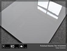 Super white 60*60 polished floor tiles design