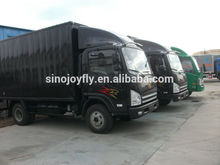 led mobile stage truck mobile advertising van