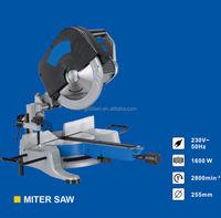 255mm 1600w Head Detachable Induction Motor Electric Power Wood Cutting Saws Aluminum Industrial Cut Off Saw Machine