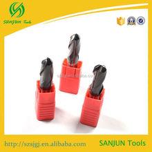 Factory direct sales carbide ball nose grinder tool / CNC carbid ball nose granite tools