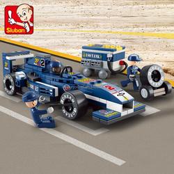 2015 Hot sale Sluban building blocks ABS plastic bricks novelty toys for children